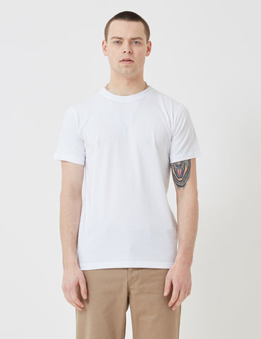 Norse Projects Niels Standard Logo Patch T-Shirt - White