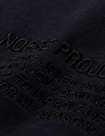 Norse Projects Niels Logo T-Shirt - Black