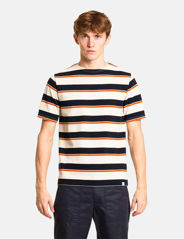 T-Shirt Compact Classique Norse Projects Godtfred - Golden Orange