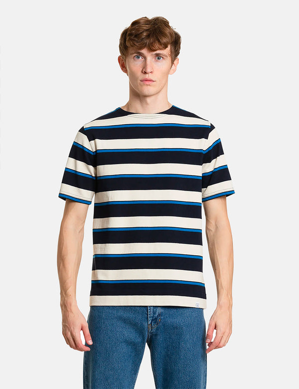 T-Shirt Compact Classique Norse Projects Godtfred - Himmel Blue