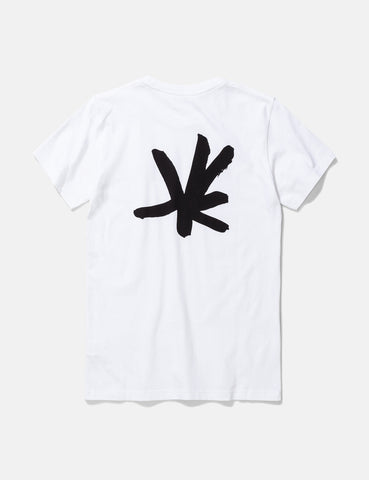 Norse Projects Niels Sign Logo T-Shirt - White
