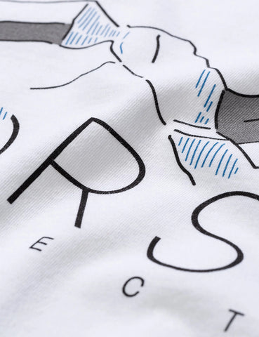 Norse Projects Niels Mountains T-Shirt - White