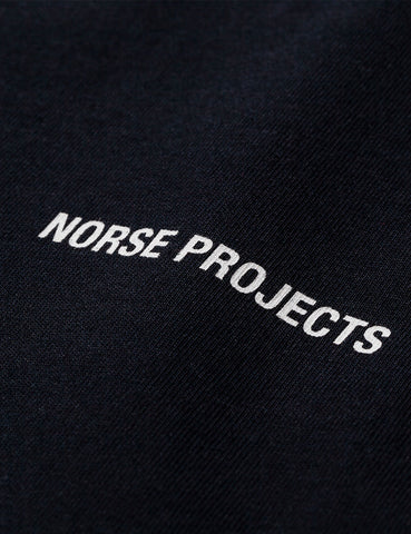 Norse Projects Logo T-Shirt - Black