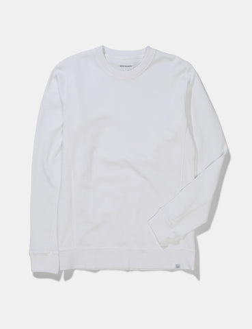 Norse Projects Vagn Mercerised Sweatshirt - White