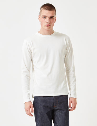 Norse Projects Johannes Oversize Long Sleeve T-Shirt - White
