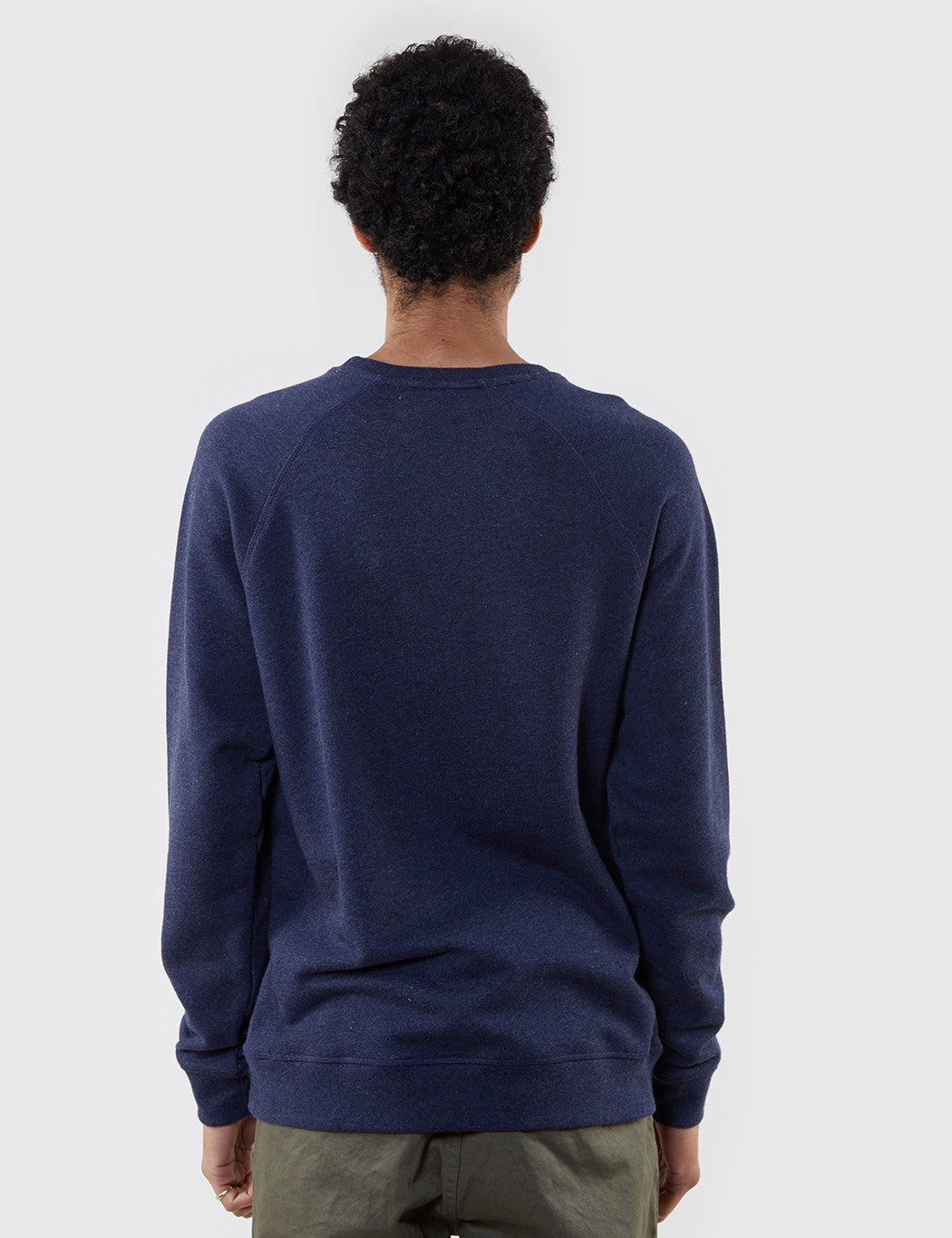 Norse Projects Ketel Crew Sweat - Navy Blue