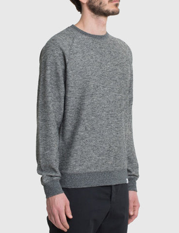 Norse Projects Ketel Mouline Sweatshirt - Charcoal