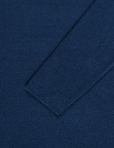 Norse Projects Halfdan Toweling Sweatshirt - Dark Navy