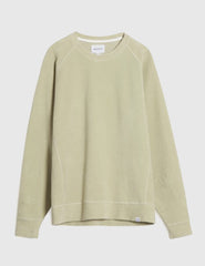 Norse Projects Ketel Brushed Sweat - Perimeter Green