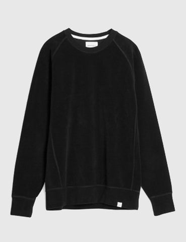 Norse Projects Ketel Brushed Sweat - Black