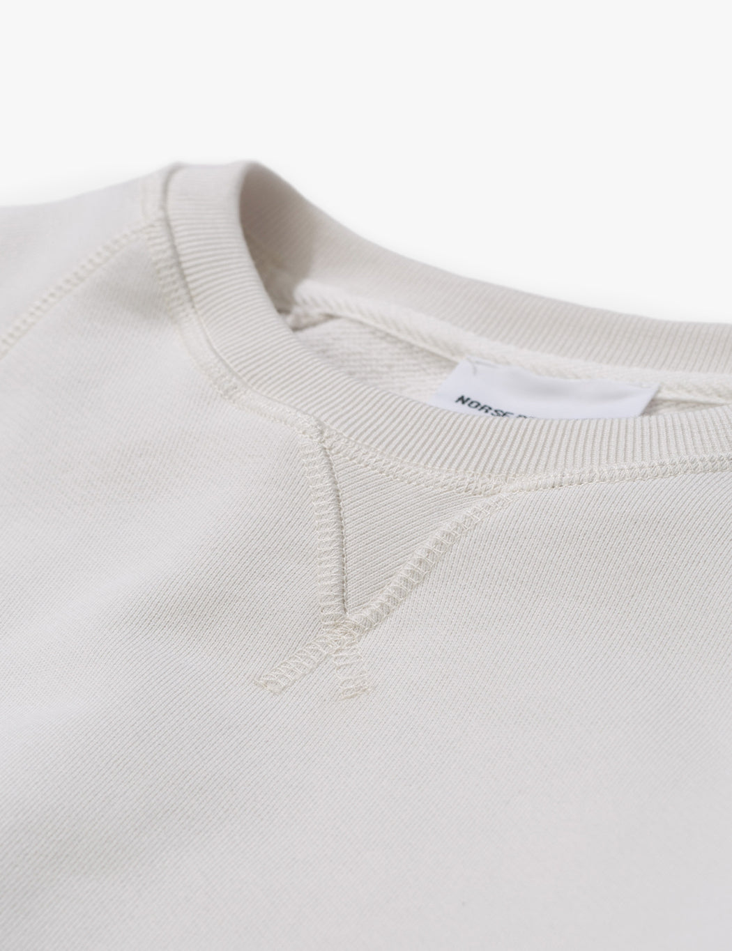 Norse Projects Ketel Summer Classic Sweatshirt - Kit White