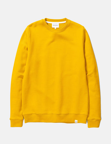 Norse Projects Vagn Classic Sweatshirt - Montpellier Yellow