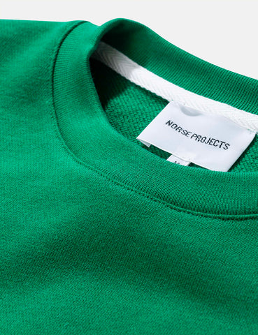 Norse Projects Vagn Classic Sweatshirt - Sporting Green