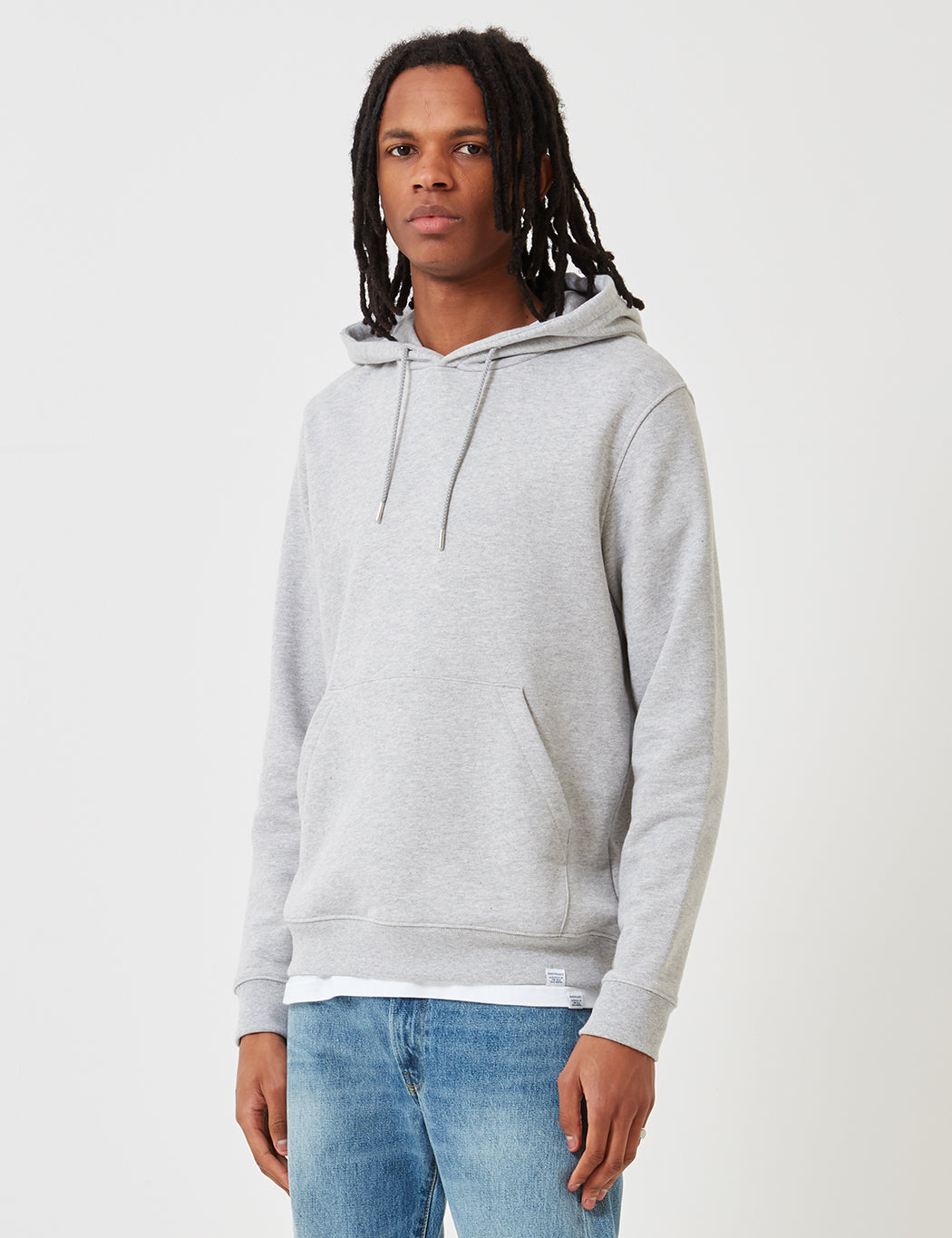 Norse Projects Vagn Classic Hooded Sweatshirt - Grey | URBAN EXCESS.