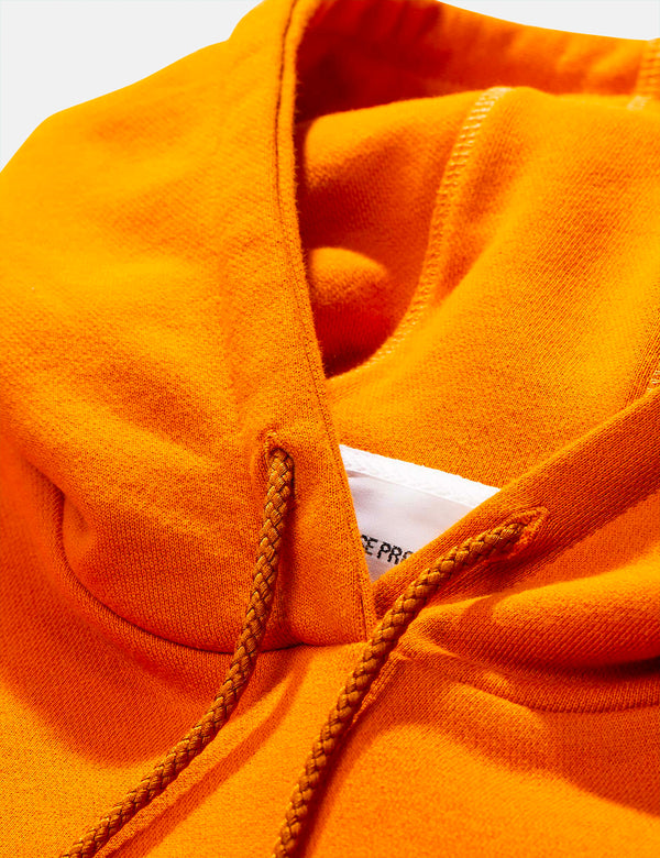 Norse Projects Vagn Classic Hooded Sweatshirt - Cadmium Orange