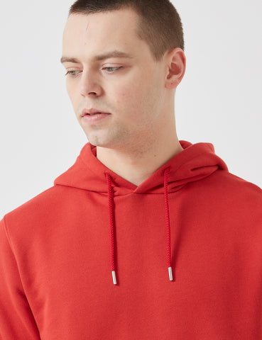 Norse Projects Vagn Classic Hooded Sweatshirt - Askja Red