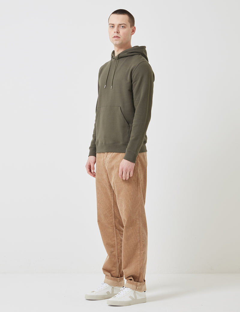 Norse Projects Vagn Classic Hooded Sweatshirt - Ivy Green
