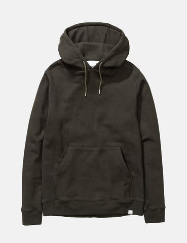 Norse Projects Vagn Classic Hooded Sweatshirt - Beech Green