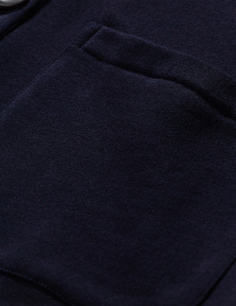 Norse Projects Vidar Sweat Cardigan - Dark Navy Blue