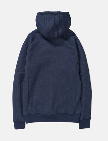Norse Projects Ketel Hooded Sweatshirt - Navy