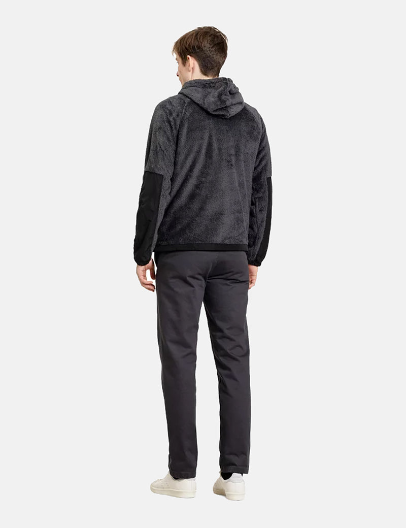 Norse Projects Tycho Hood Fleece - Slate Grey
