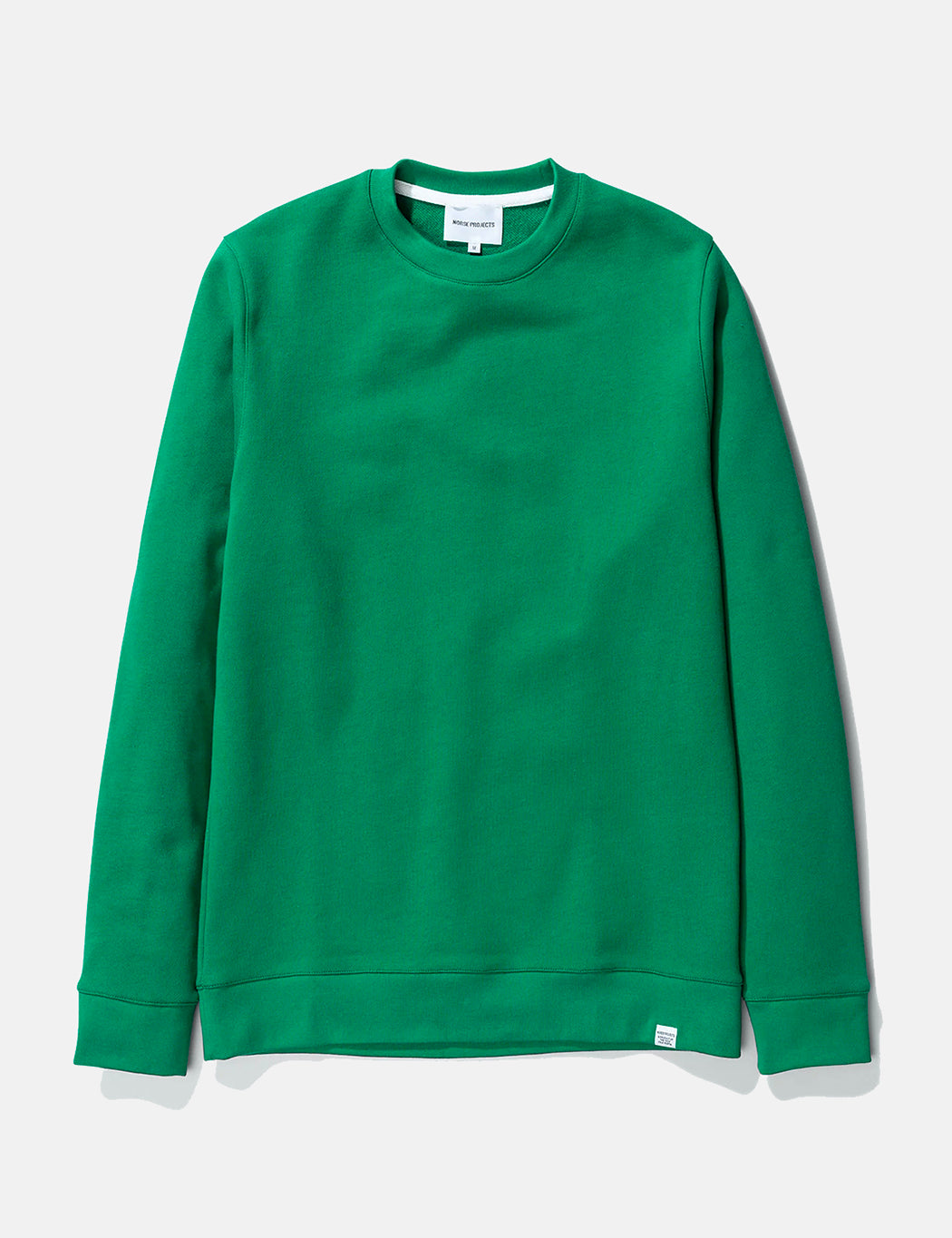 Norse Projects Vagn Classic Sweatshirt - Sporting Green | URBAN EXCESS