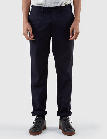 Norse Projects Thomas Light Wool Trousers (Slim) - Dark Navy