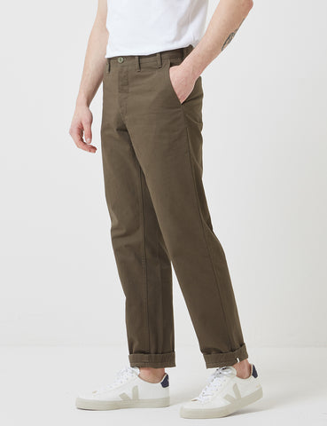 Norse Projects Aros Heavy Chino (Regular) - Ivy Green