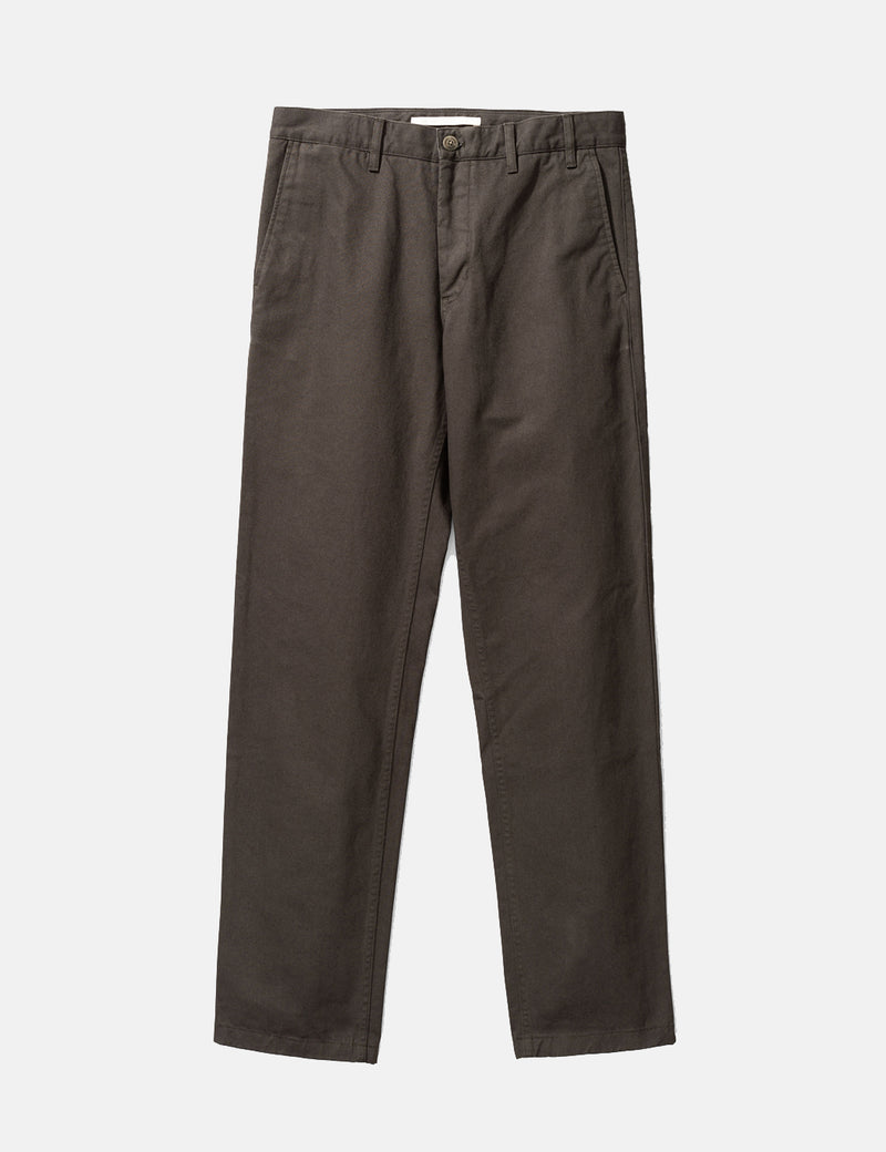 Norse Projects Aros Heavy Chino (Regular) - Beech Green