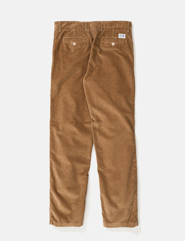 Norse Projects Aros Corduroy Chino - Utility Khaki