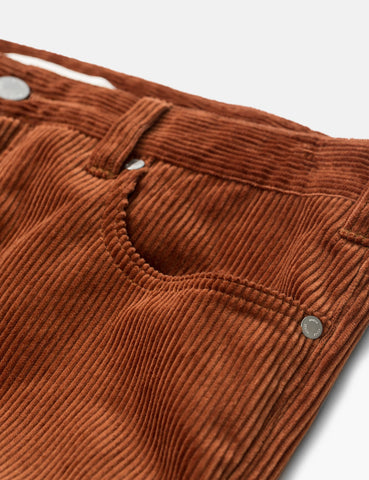 Norse Projects Edvard Trousers (Corduroy) - Zircon Brown