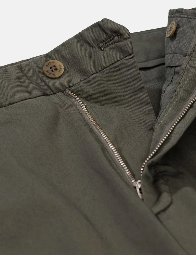 Norse Projects Aros Light Stretch Chino (Slim) - Ivy Green