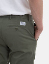 Norse Projects Aros Light Stretch Chino (Slim) - Dried Olive Green