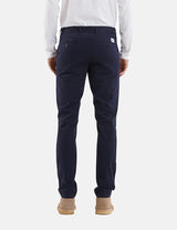 Norse Projects Aros Light Twill Chino - Dark Navy Blue