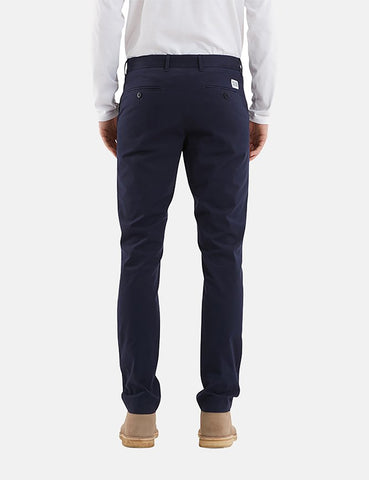 Norse Projects Aros Light Twill Chino (Slim) - Dark Navy Blue
