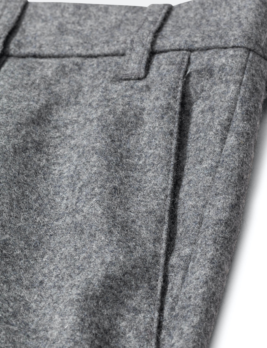 Norse Projects Aros Chino (Wool) - Charcoal Melange
