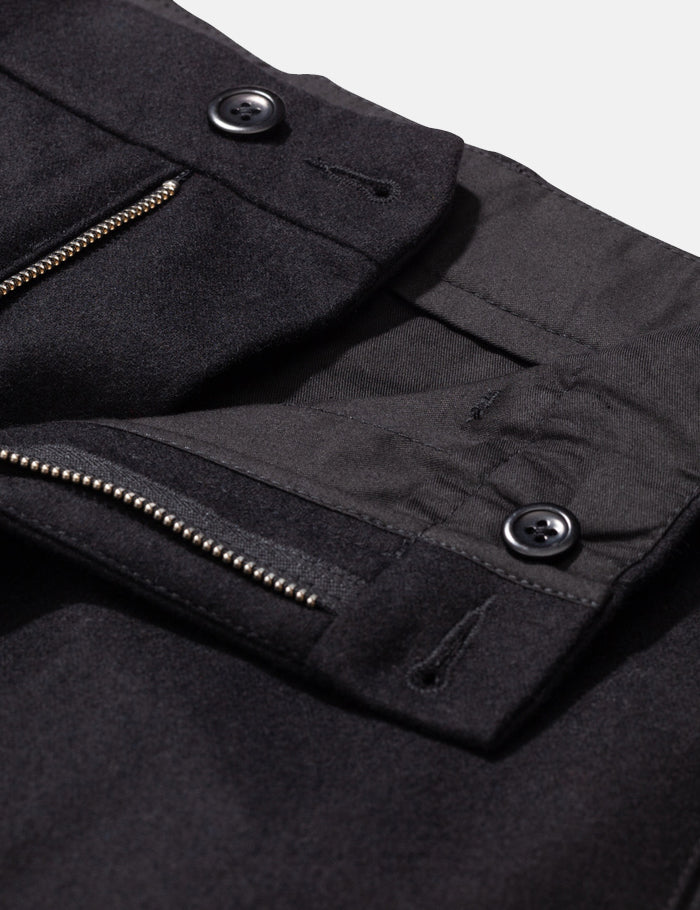 Norse Projects Aros Chino (Wool) - Black