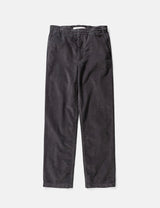 Norse Projects Evald Light Cord Pant - Slate Grey