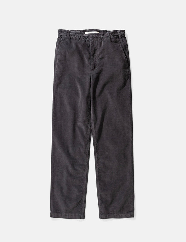 Pantalon Evald Light Cord de Norse Projects - Gris Ardoise