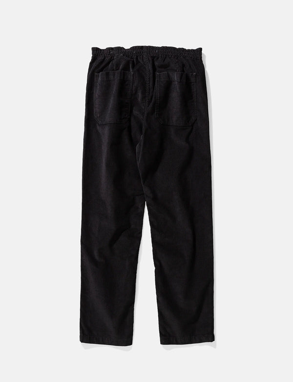 Norse Projects Evald Light Cord Pant - Black