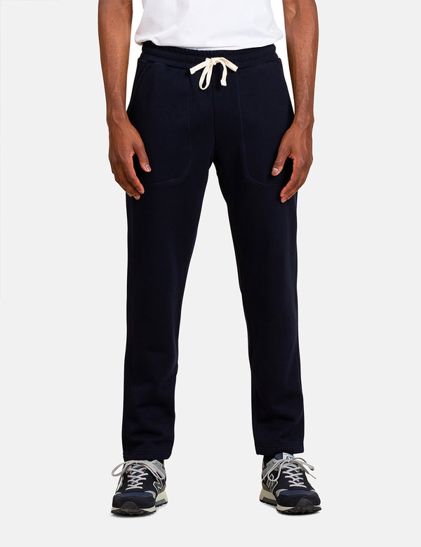Norse Projects Falun Classic Sweatpant - Dark Navy Blue