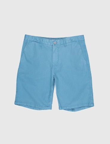 Norse Projects Aros Light Twill Shorts - Marginal Blue