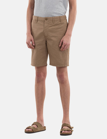 Norse Projects Aros Light Twill Shorts - Utility Khaki