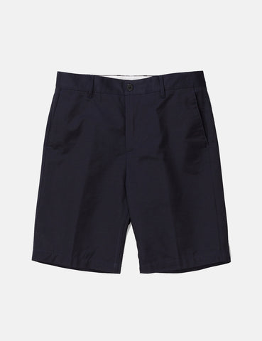 Norse Projects Haga Technical Twill Shorts - Dark Navy
