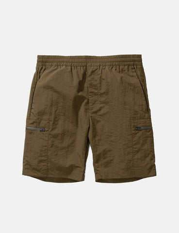 Norse Projects Luther Straight Shorts - Ivy Green