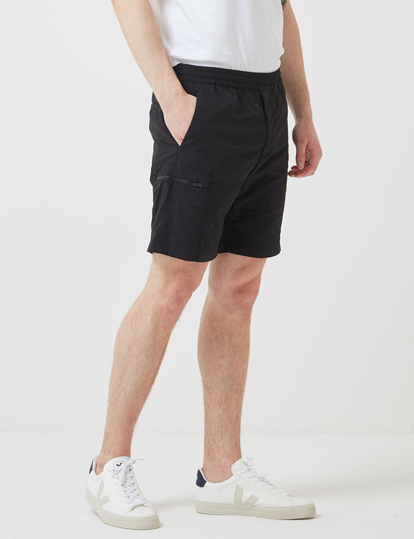 Norse Projects Luther Straight Shorts - Black
