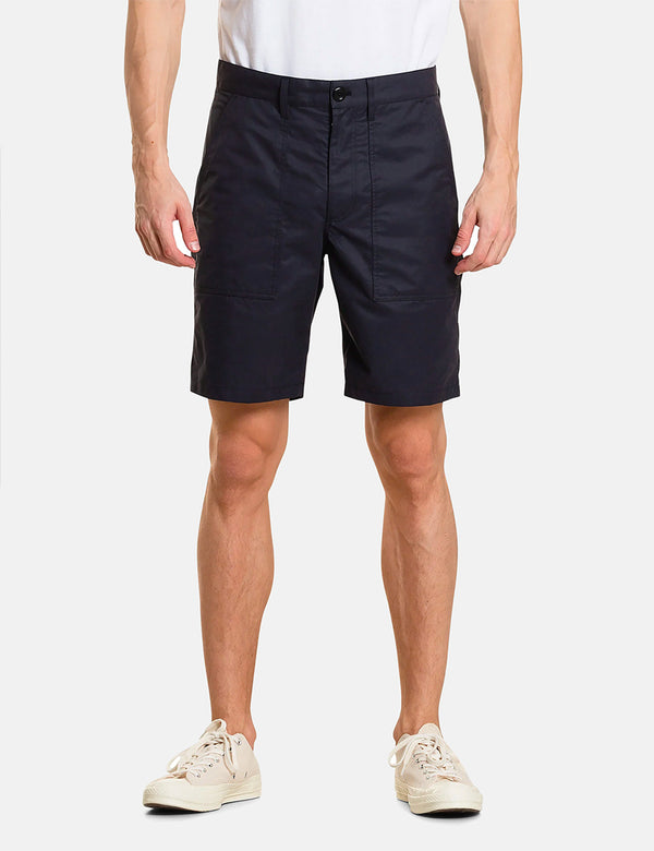 Short Norse Projects Aaro 60/40 Fatigue - Bleu Marine Foncé