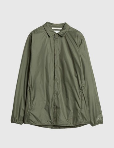 Norse Projects Jens Nylon Ripstop Jacket - Dried Olive