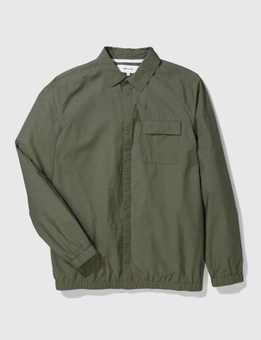 Norse Projects Jens Cotton Jacket - Dried Olive