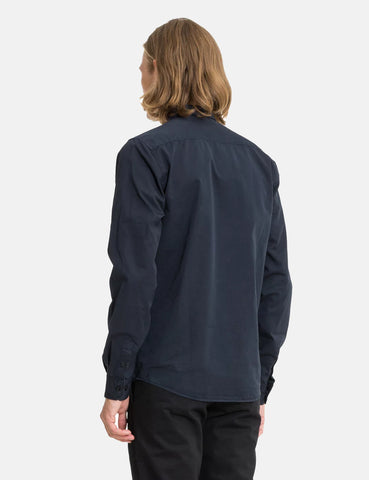 Norse Projects Anton Twill Shirt - Dark Navy Blue